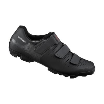 【SHIMANO】XC100 男款性能型登山車鞋 標準楦 黑色