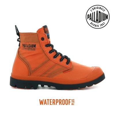 PALLADIUM PAMPA LITE+ VAPOR WP+輕量防水靴-中性-橘