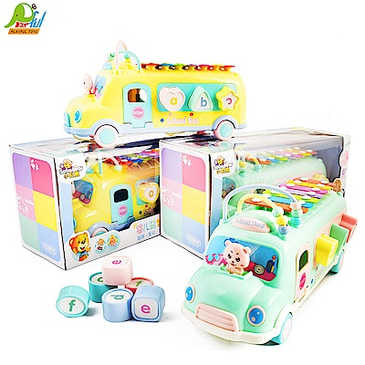 Playful Toys 頑玩具 嬰兒校車敲琴