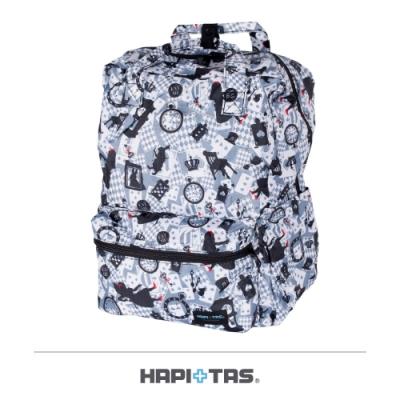 【HAPI+TAS】摺疊手提後背包─新版灰色愛麗絲