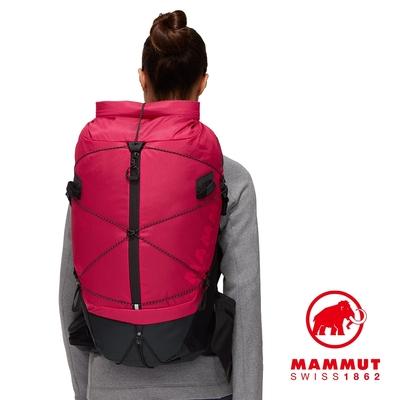 【Mammut】Ducan Spine 28-35 輕量健行後背包 火龍果/黑 #2530-00360