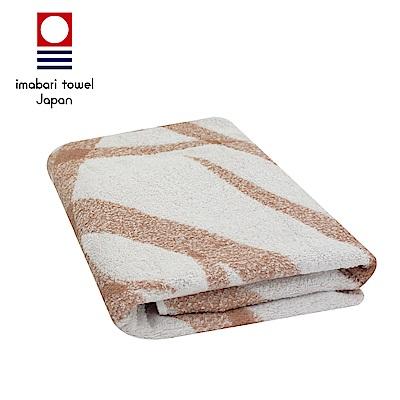 日本今治 純天然有機棉無染色浴巾(絲帶-粉藕紅)