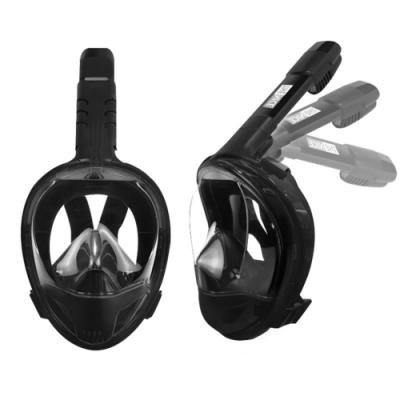 【THENICE】 全新款 雙管呼吸摺疊浮潛面罩