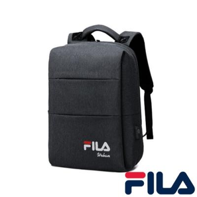 FILA 多功能商務用後背-鐵灰色