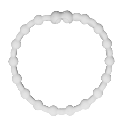 Pro Hair Tie 扣環髮圈單條組-白色