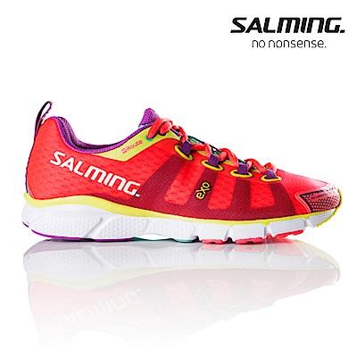 Salming ENROUTE 寬楦 女訓練慢跑鞋 粉