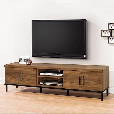 時尚屋  伊萊6尺電視櫃  寬181.5x深40x高49cm