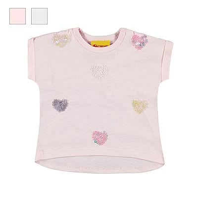 STEIFF德國精品童裝 短袖T恤上衣 繽紛多彩亮片