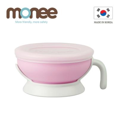 【韓國monee】100%白金矽膠寶寶智慧矽膠碗/4色