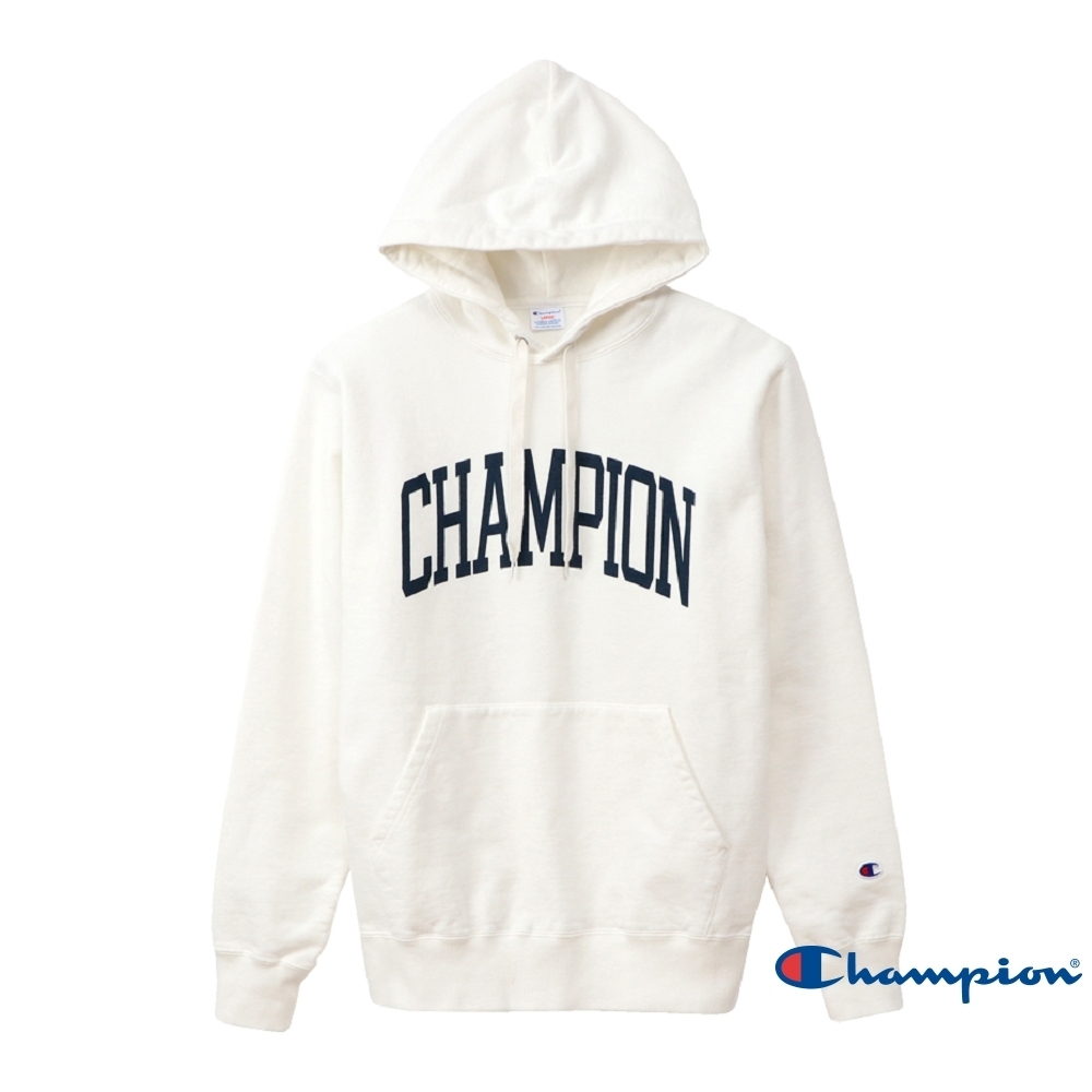 Champion Campus印花連帽Tee 白色 product image 1