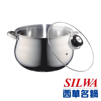 SILWA西華 304不鏽鋼湯鍋28cm/發財鍋