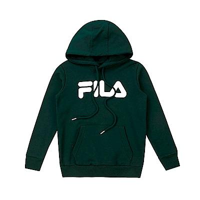 FILA KIDS #東京企劃原宿篇 童連帽上衣-綠 1TES-8435-GN