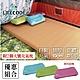 【LIFECODE】立體3D TPU雙人自動充氣睡墊-厚10cm(195x140x10cm)-奶茶色 附2個大型充氣枕 product thumbnail 1