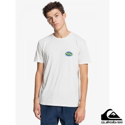 【QUIKSILVER】FOOL CIRCLE SS T恤 白色