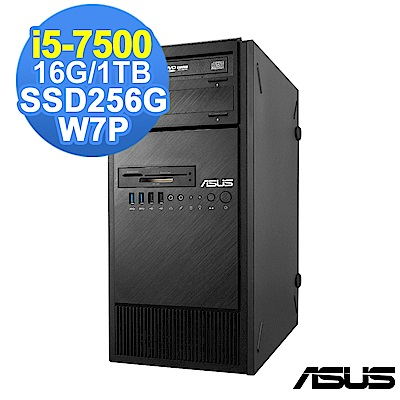 ASUS  7 代 i 5  工作站 i 5 - 7500 / 16 G/ 1 TB+ 256 G/W 7 P