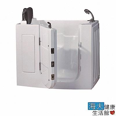 海夫健康生活館 開門式浴缸 108S-R 氣泡按摩款 (110*63*92cm)