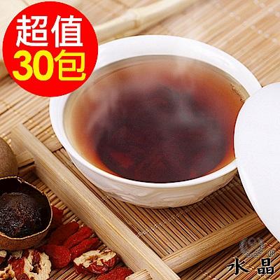 水晶 桂圓紅棗茶包6袋(5包/袋,共30包)