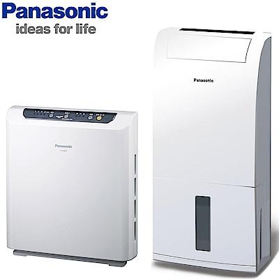 Panasonic國際牌 4坪空氣清淨機F-P20BH + 6L除濕機F-Y12EB