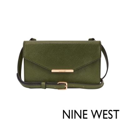 NINE WEST GOTG信封式磁釦迷你包-深草綠(106378)