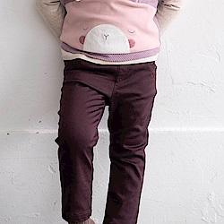 PIPPY 彈性休閒長褲 紫