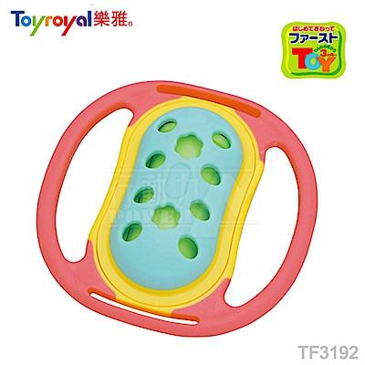 【任選】日本《樂雅 Toyroyal》LOVE系列-風鈴固齒玩具(風鈴聲)