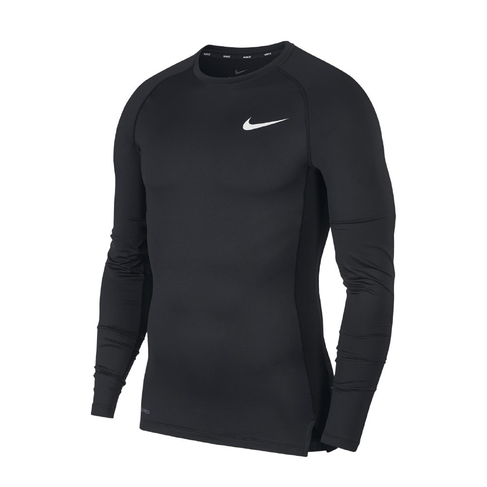 Nike T恤 Pro Men Top 運動 男款 緊身 內搭 快乾排汗 透氣 健身 重訓 黑 白 BV5589010