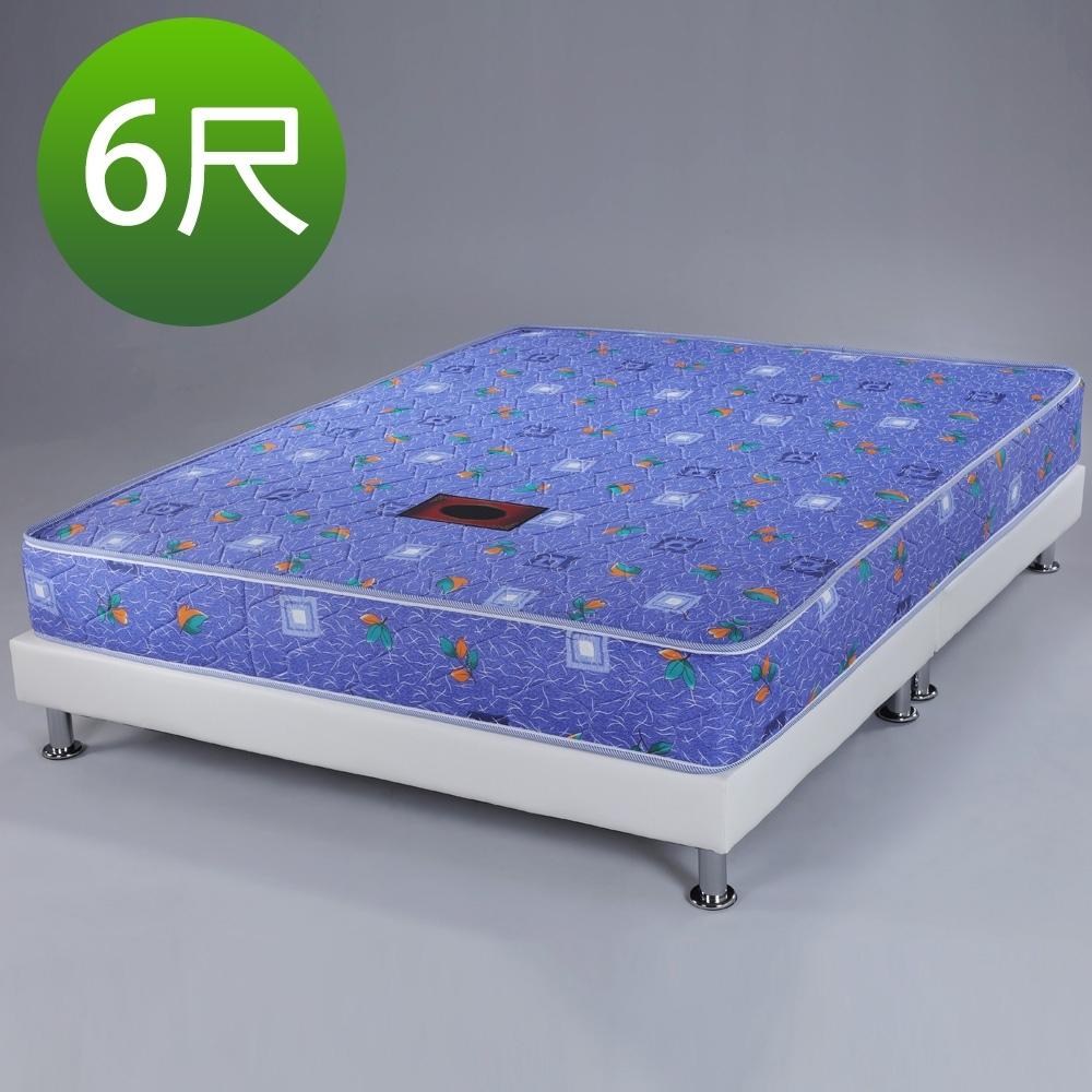 Homelike 蒂曼印花獨立筒床墊-雙人加大6尺