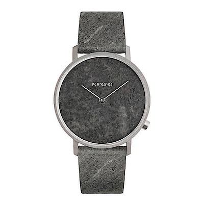 KOMONO Lewis 李維斯系列腕錶-雲母黑