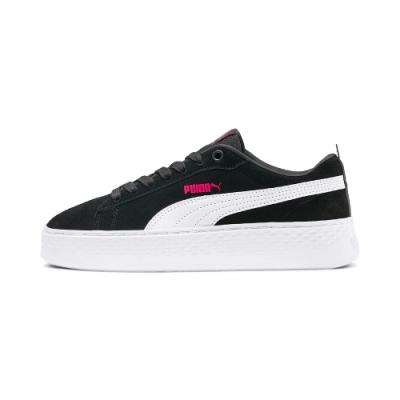 PUMA-Puma Smash Platform SD 女性復古休閒鞋-黑色