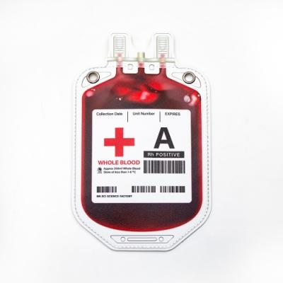 賽先生科學 血袋造型斜背小包 (4款血型)