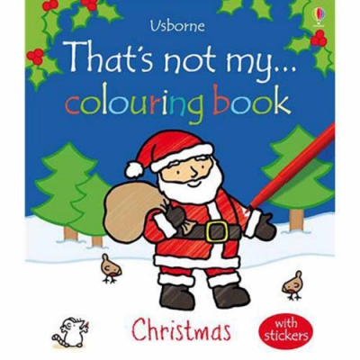 That s Not My... Colouring Book:Christmas 耶誕節篇