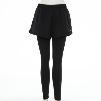 SKECHERS 女兩件式短褲加緊身長褲 - P120W022-002K