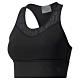 PUMA-女性訓練系列First Mile中衝擊運動內衣-黑色-歐規 product thumbnail 1