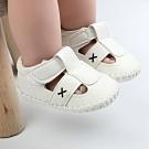 Baby童衣 鏤空包頭防踢學步鞋 半膠底涼鞋 88305