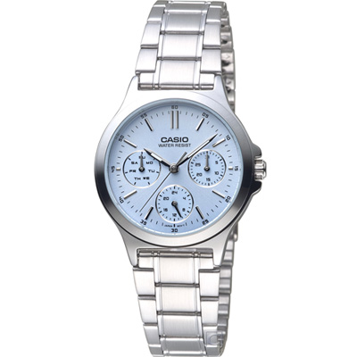 CASIO 優雅風采時尚腕錶 (LTP-V300D-2A)
