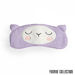 Yvonne Collection 羊駝眼罩-淺紫