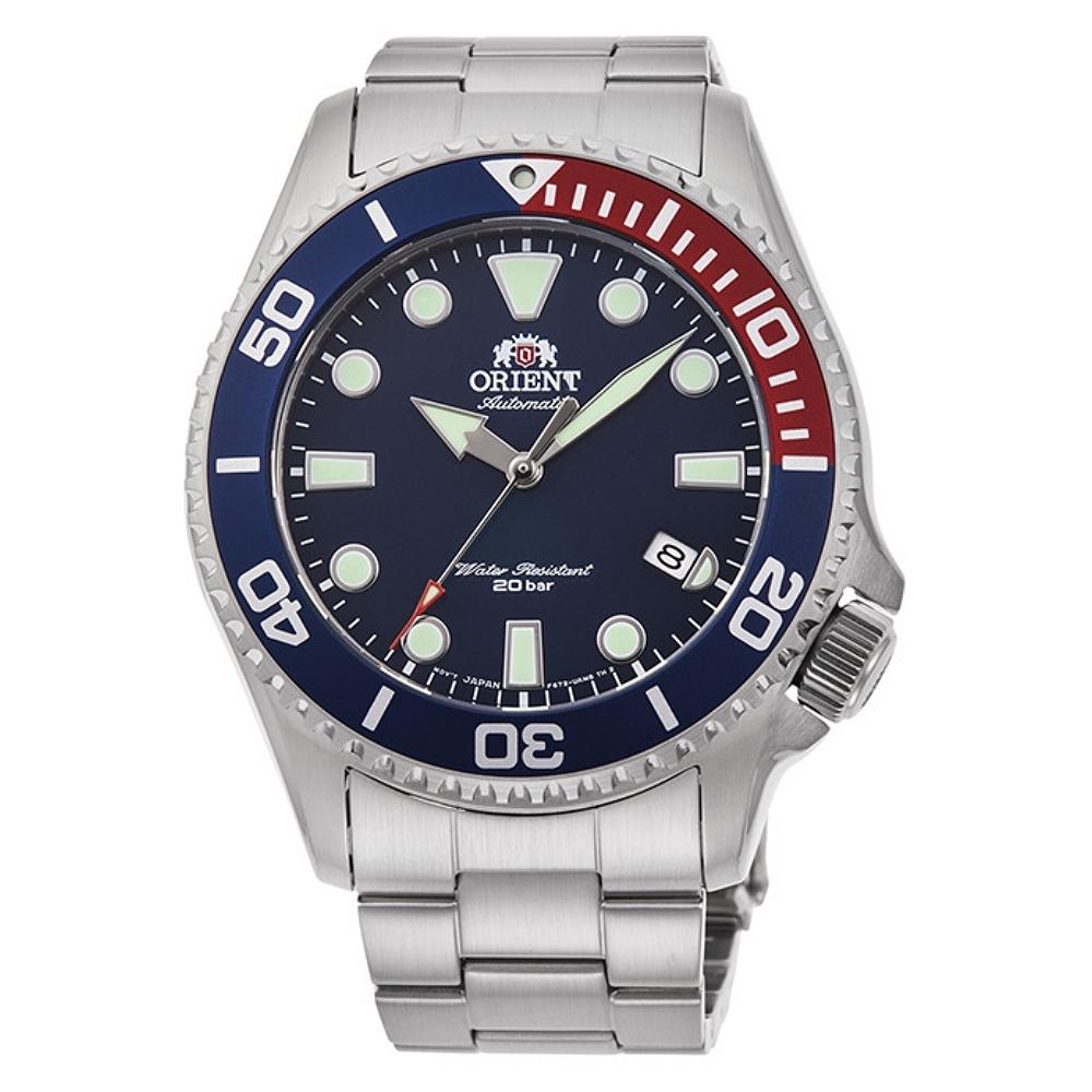 ORIENT 東方錶 深海遊龍 機械錶(RA-AC0K03L)藍水鬼/43.4mm