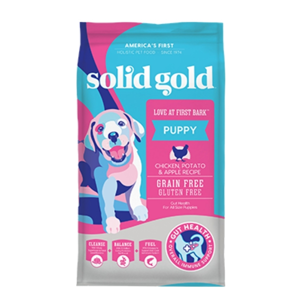 Solid gold速利高-一汪情深-幼犬健康成長超級寵糧 4LBS/1.81KG
