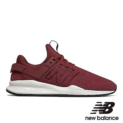 New Balance 復古鞋 MS247PB中性 酒紅色