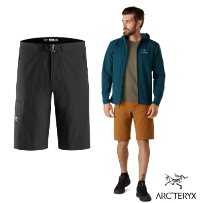 Arcteryx 始祖鳥 男 Gamma LT 軟殼短褲 黑