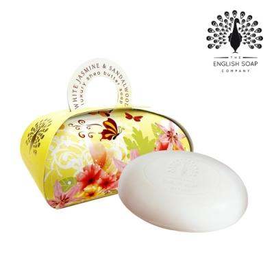 The English Soap Company 乳木果油植萃香氛皂-茉莉檀香 White Jasmine and Sandalwood 260g