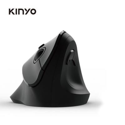(時時樂送好禮三選一)KINYO 2.4GHz直立式無線滑鼠GKM919