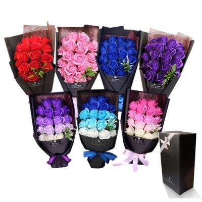 【VENCEDOR】送禮首選 13朵香皂玫瑰花束