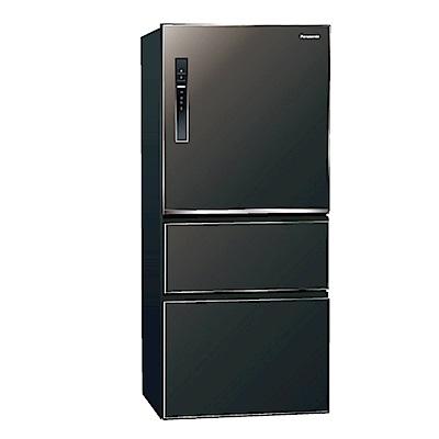 Panasonic國際牌610L三門變頻冰箱NR-C619HV
