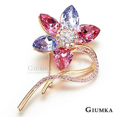 GIUMKA母親節推薦華麗滿鑽胸針別針(五款任選)