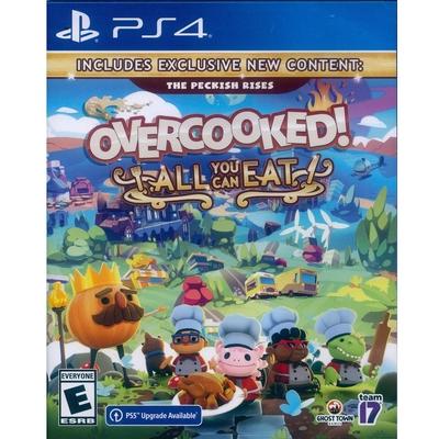 胡鬧廚房!全都好吃 (煮過頭大合輯) Overcooked All You Can Eat - PS4 中英日文美版