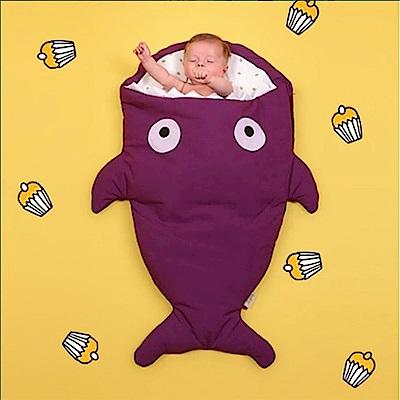 【嬰幼兒標準版-紫羅蘭】BabyBites西班牙鯊魚咬一口睡袋
