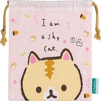 捲心奶油貓可愛生活系列束口袋  San-X