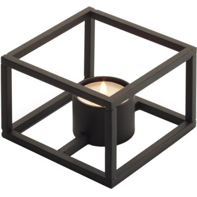 《PHILIPPI》簡約霧黑燭台(立方)