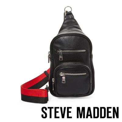STEVE MADDEN-BAUSTEN 街頭潮流單肩背包-黑色